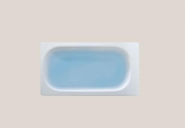 Μπανιέρα  χαλύβδινη λευκή