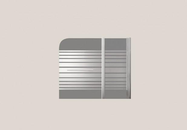 Διαχωριστικό µπανιέρας 120Χ140