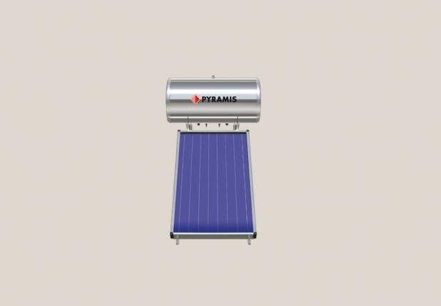 Ηλιακός θερμοσίφωνας PYRAMIS